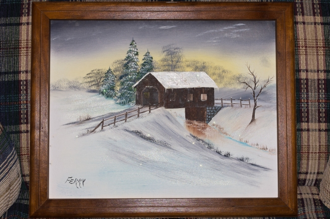 Covered Bridge by Pete Ferry