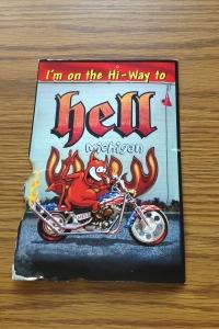 Hell-Postcard