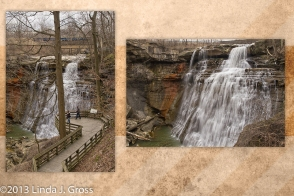 Ohio, Cuyahoga Valley National Park, Waterfall