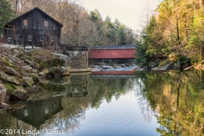 McConnells Mill State Park, Pennsylvania, Gristmill, Covered Bridge