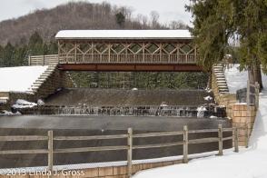 Bradford, Marilla Reservoir, Pennsylvania, Covered Bridge