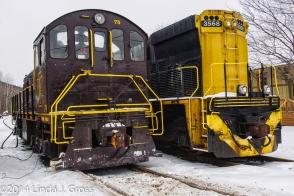 Titusville, Pennsylvania, Train