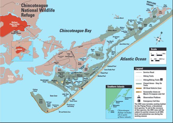 Assateague-Chincoteague_Map