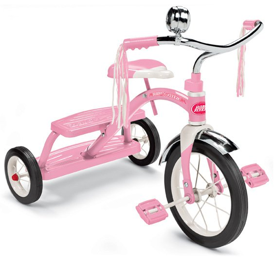 Radio-Flyer-pink-tricycle